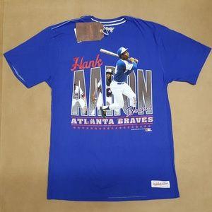 Mitchell & Ness Hank Aaron Braves T-Shirt size L